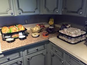 Lots of food.